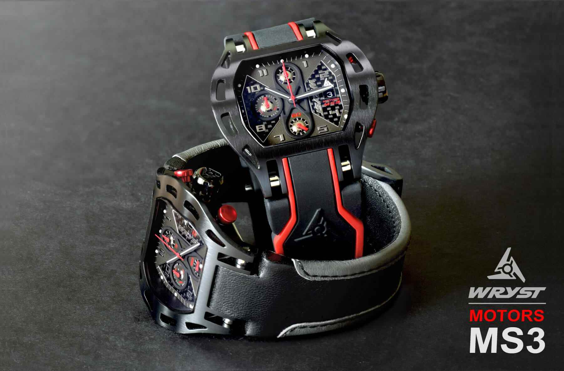 Carbon Fiber Car Racing Watch