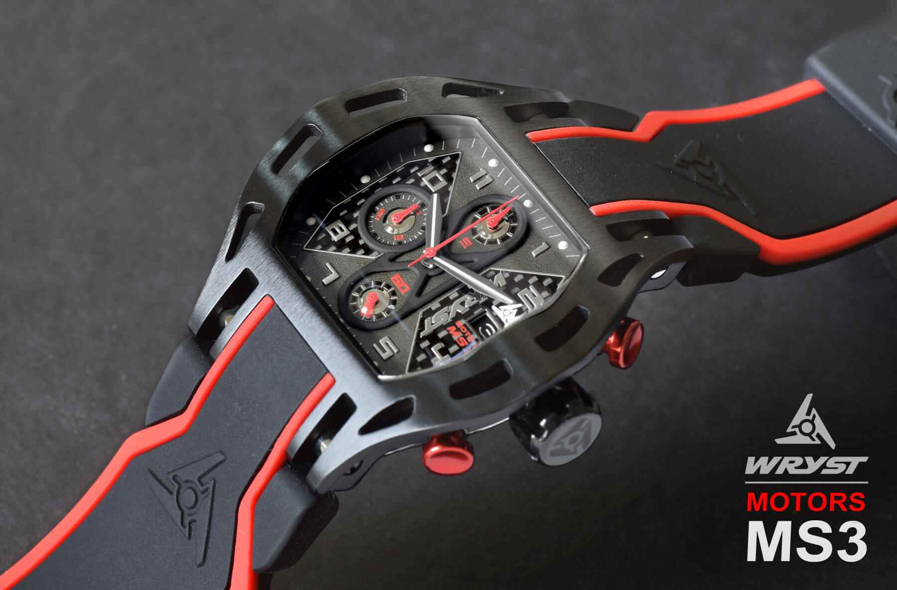 Carbon Fiber Motorsport Watch