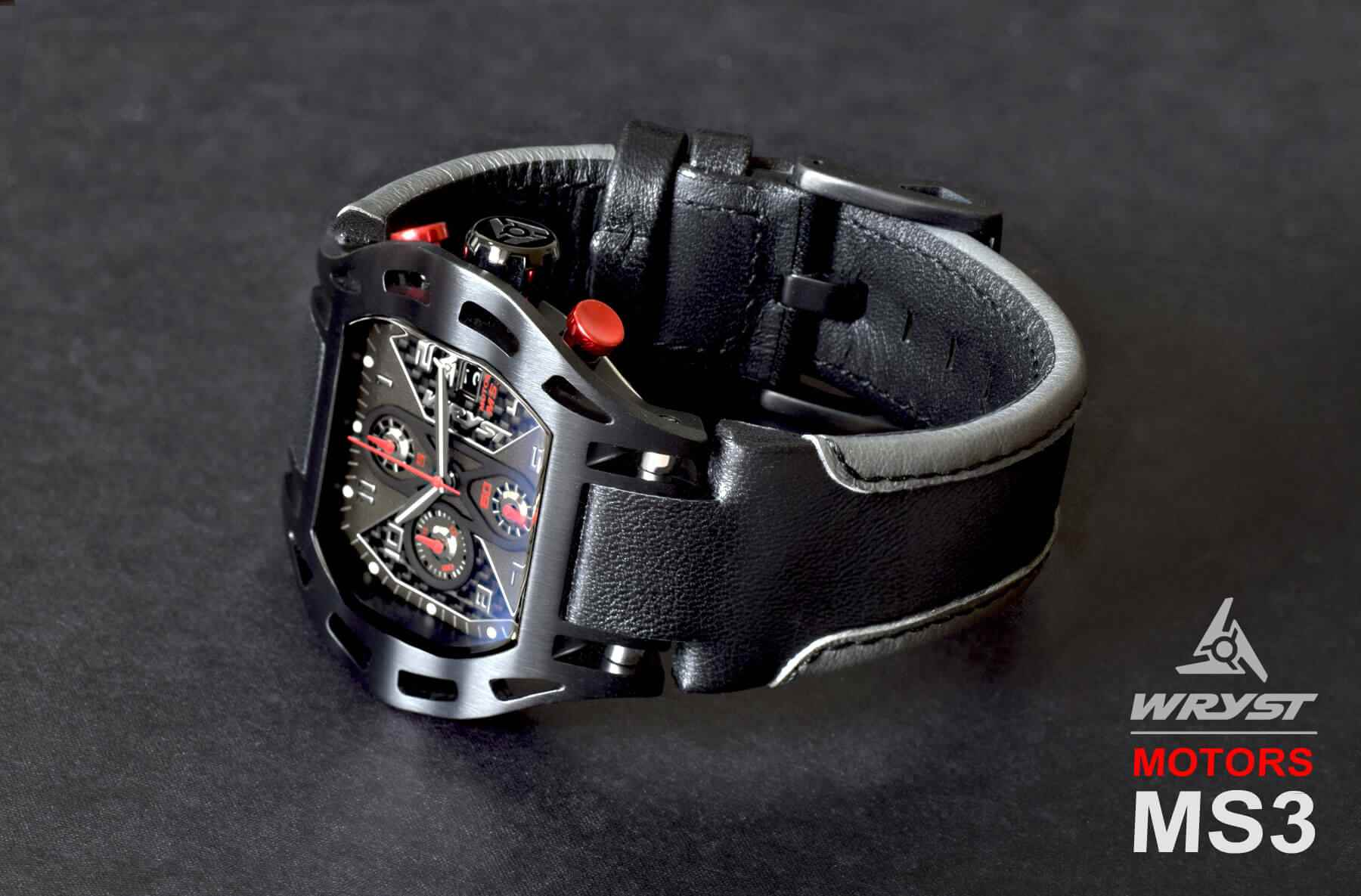 Carbon Fiber Swiss Watch