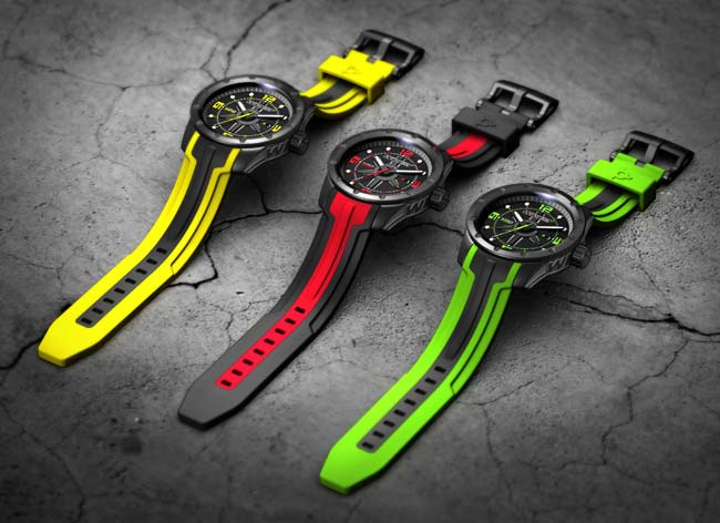 Wryst Black Mens Watches