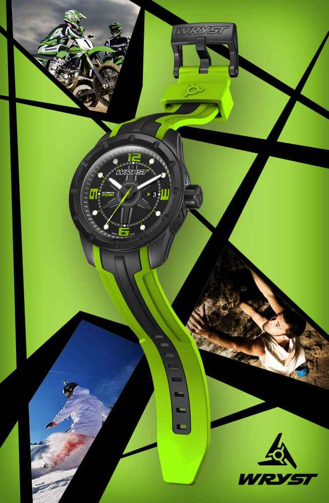 best gift for men green sport watch