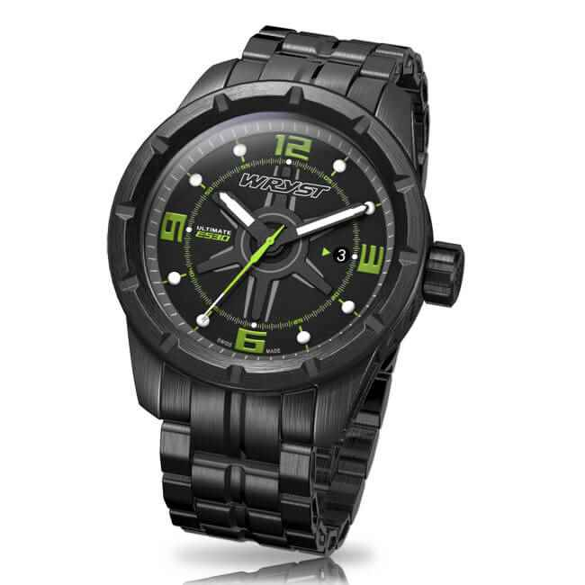 men black quartz watch