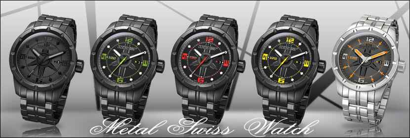 Metal Swiss Watch