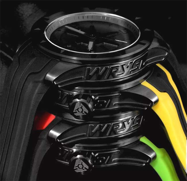 scratch resistant black DLC watch coating