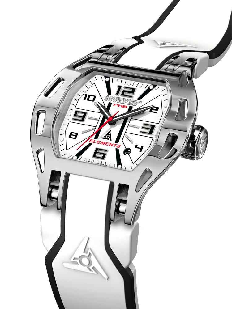 Reloj deportivo Wryst Elements PH8 en blanco