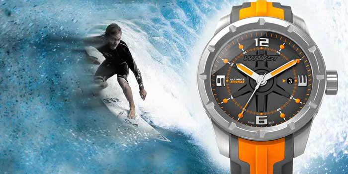 swiss quartz watches for watersport