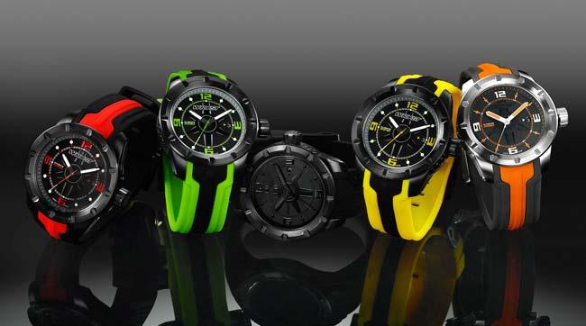 Black DLC Watches for Men