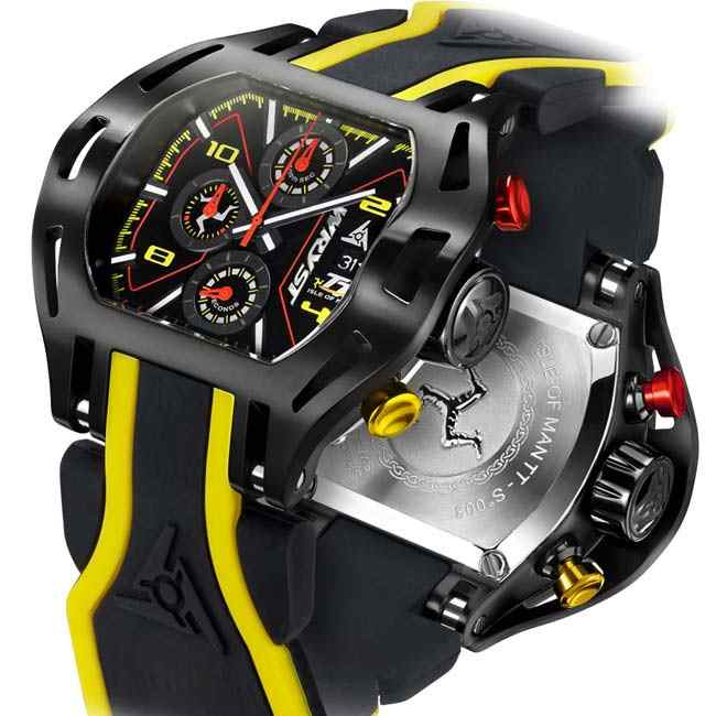 Isle of Man TT Watch Sapphire Crystal