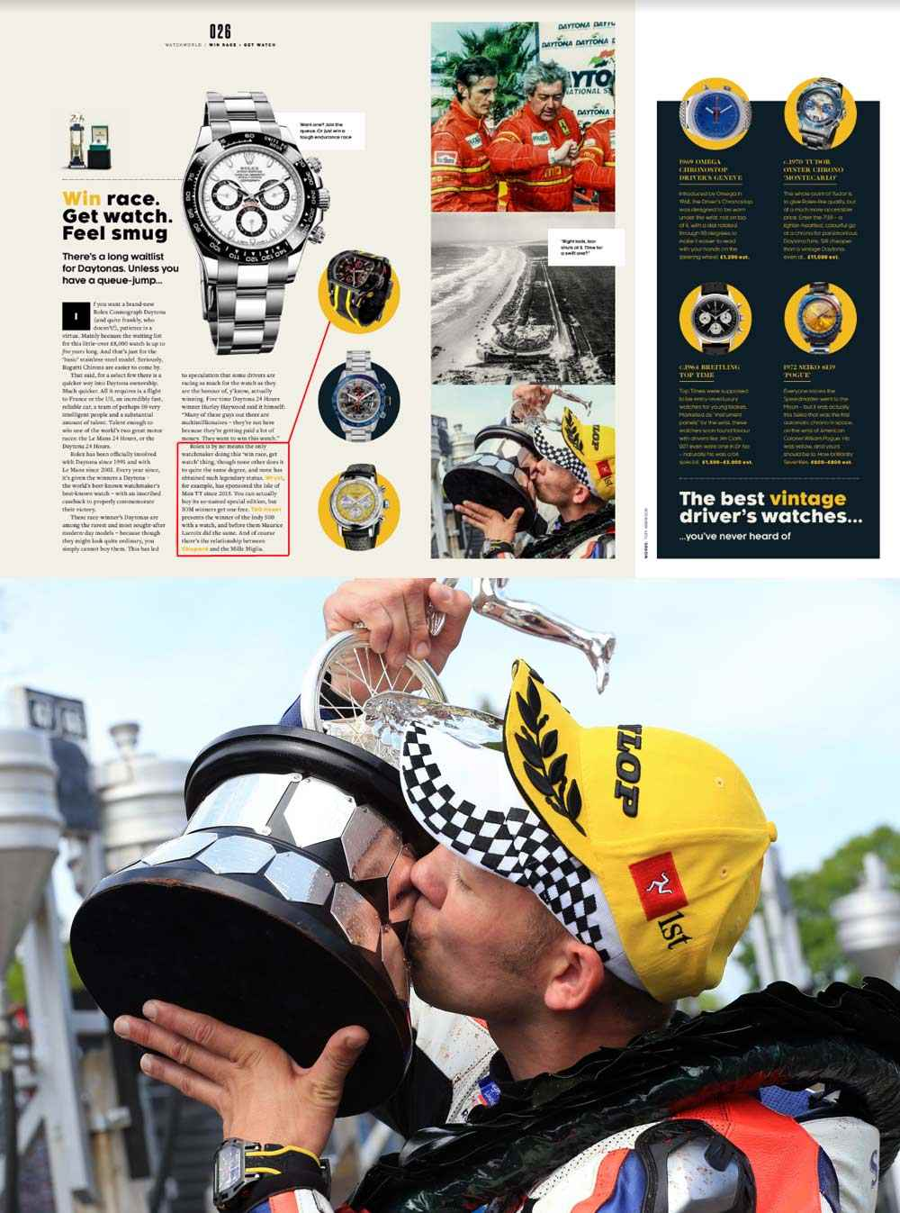 Best 2019 racing sports watches Top Gear magazine
