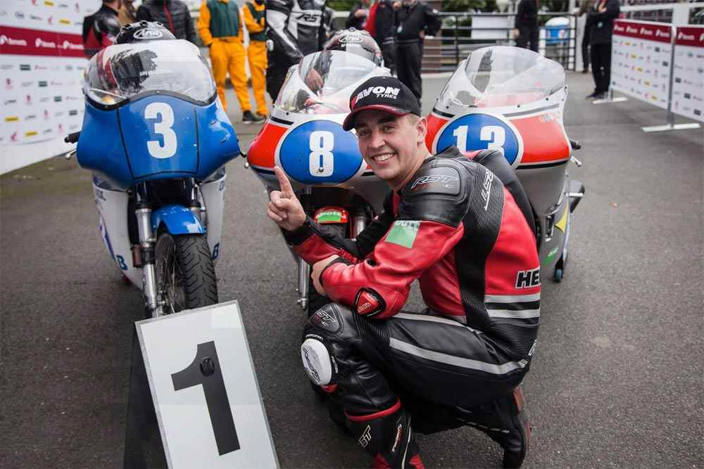 Dominic Herbertson Junior Classic TT Winner 2018