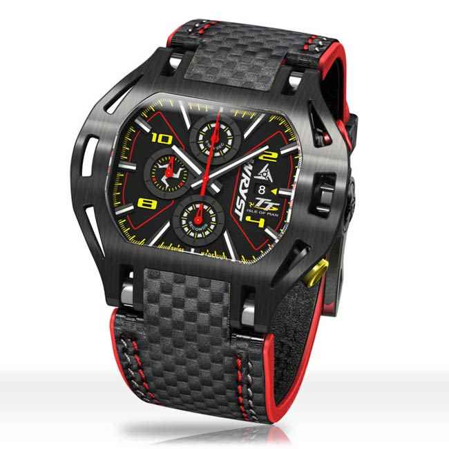 Wryst TT Watch with Carbon Fiber Bracelet