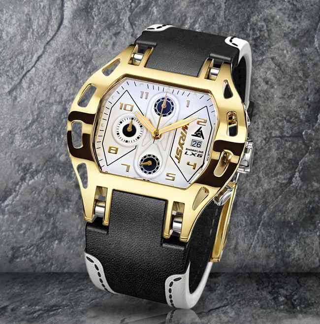 Luxury Swiss Gold Watch Wryst