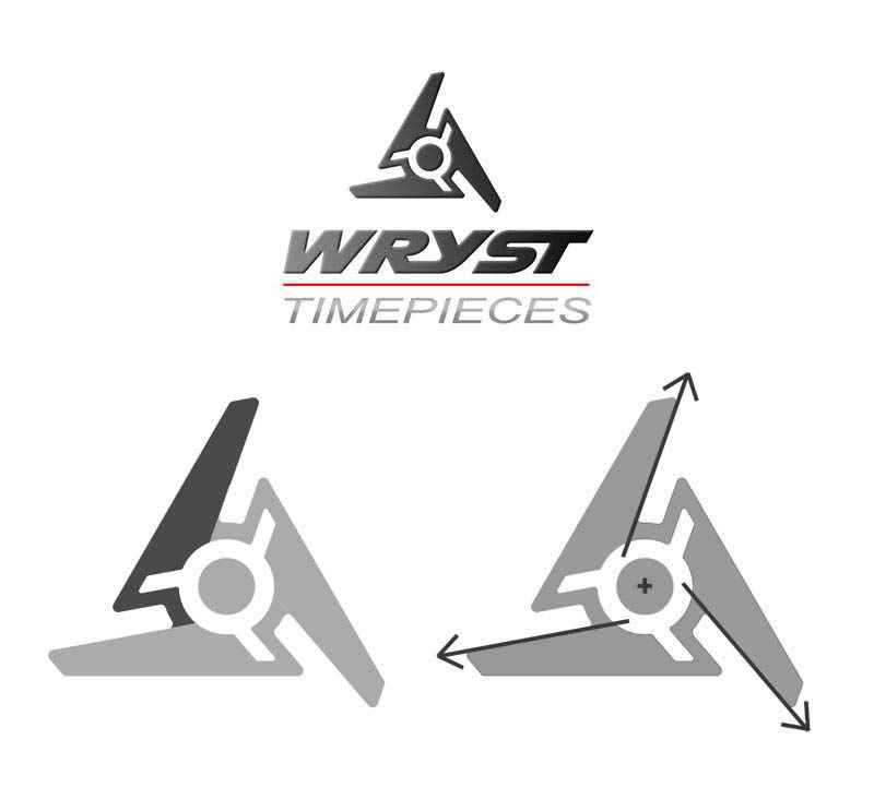 Wryst logo design sports watch