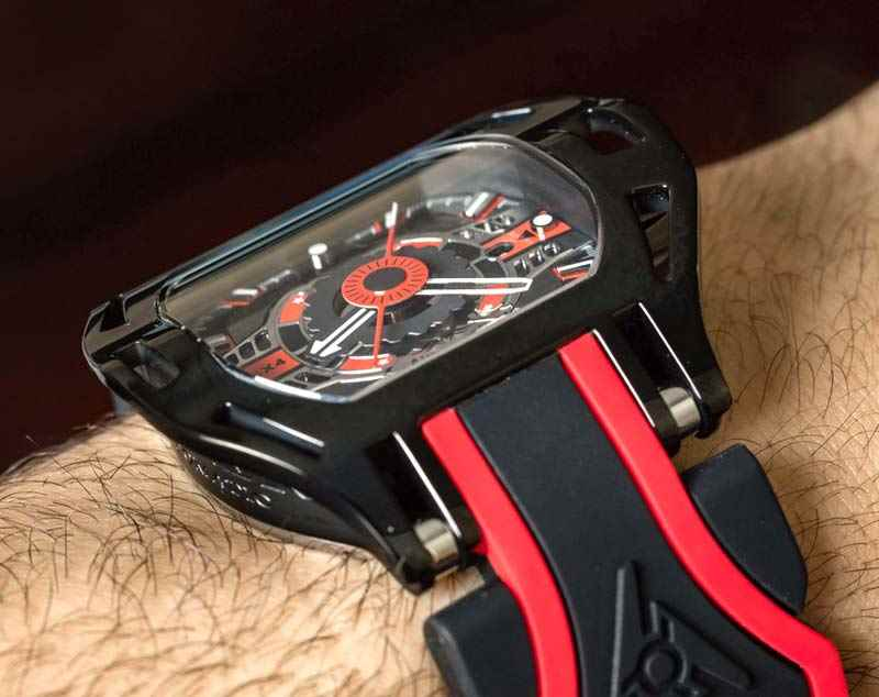 Wryst review automatic watch Wryst Racer SX4