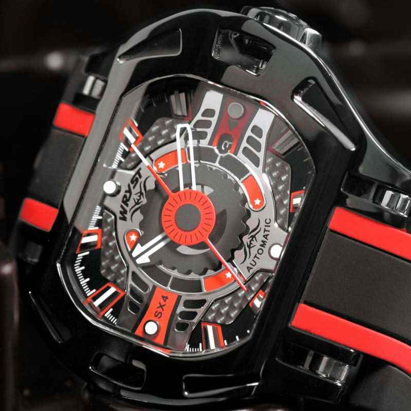 Wryst review Racer SX4 Automatic dial