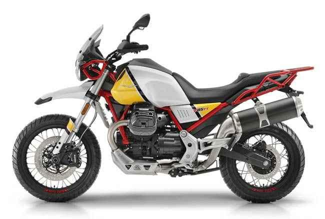 2019 TT Moto Guzzi V85 TT Classic Enduro Motorcycle