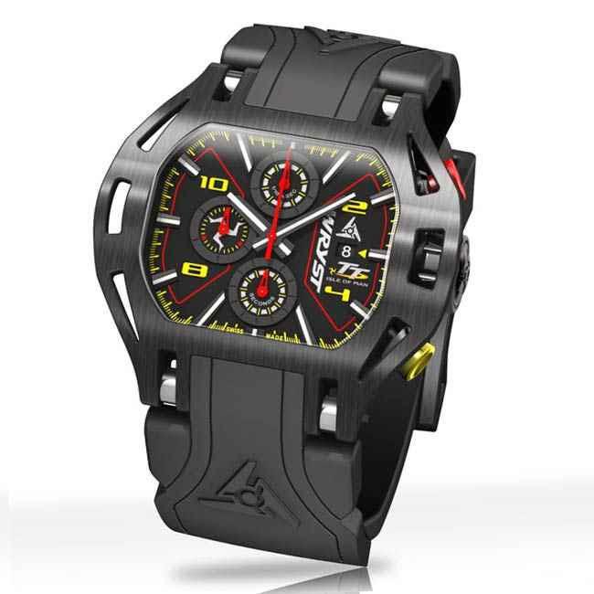 Schwarze Uhr Wryst TT 2019
