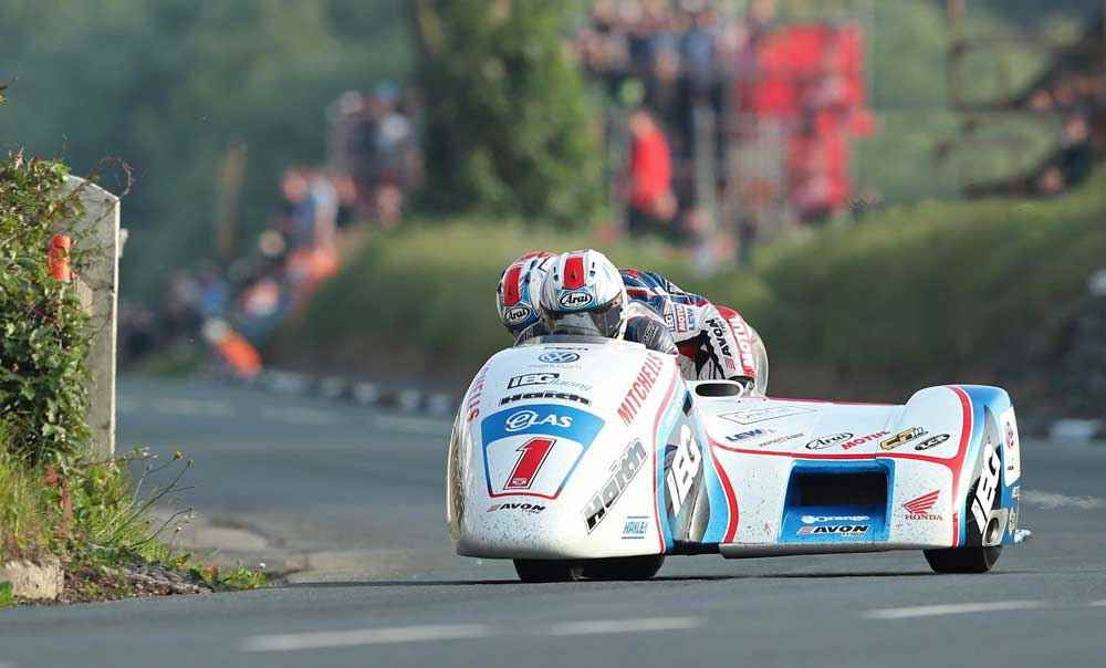 sidecar tt race 1 winner ben tom birchall