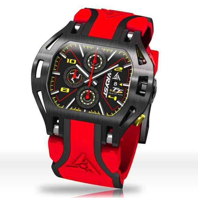 Collectible Red Racing Motorsport Watch