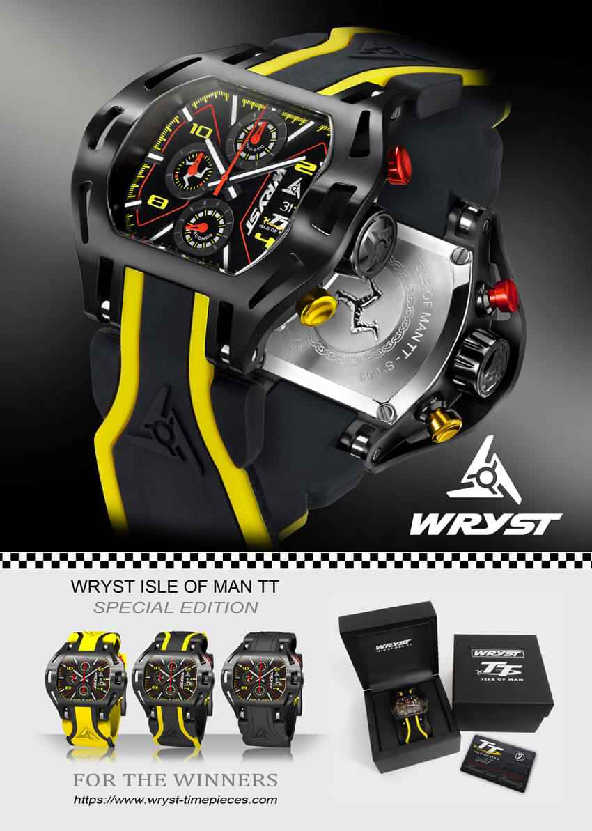 Wryst Racing Watch 2019