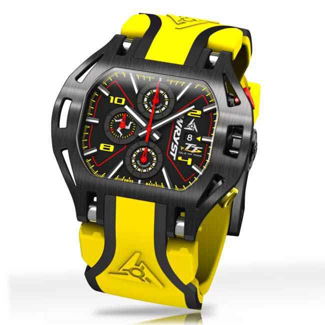 Yellow Swiss Sports Watch