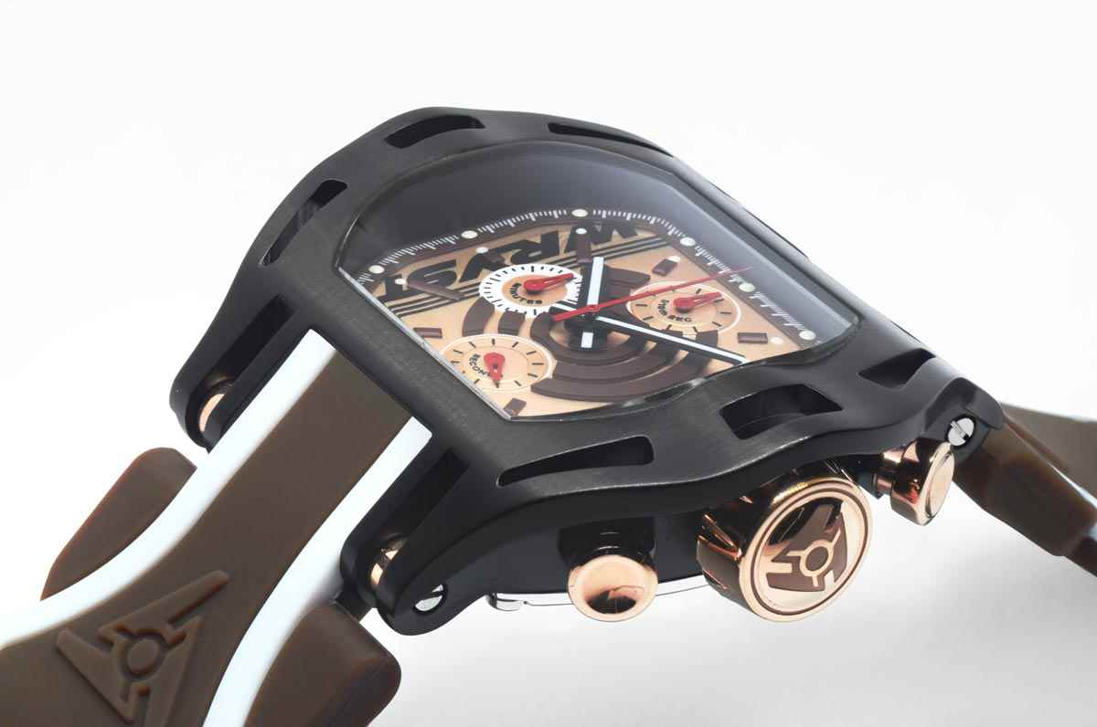 Black DLC Luxury Swiss Sports Watch SX270