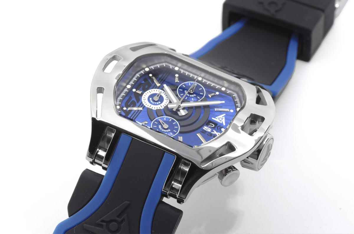 Luxury Sports Watch Wryst Blue Dial