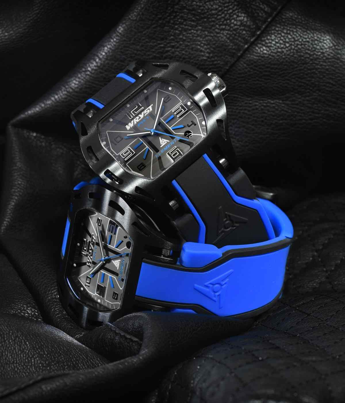 Swiss Blue Watch Wryst