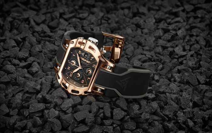 swiss rose gold watch