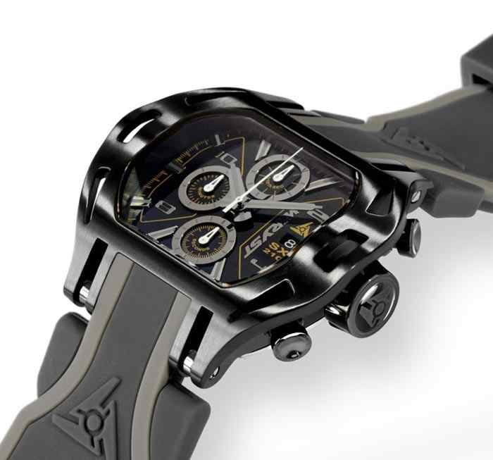 Montre sport inhabituelle Wryst Force Chrono