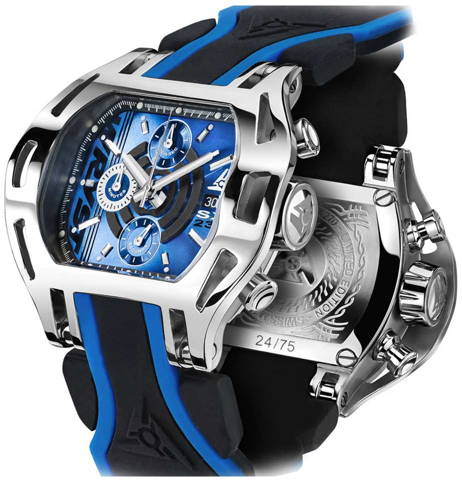 Design de Montre Sport Inhabituelle Wryst