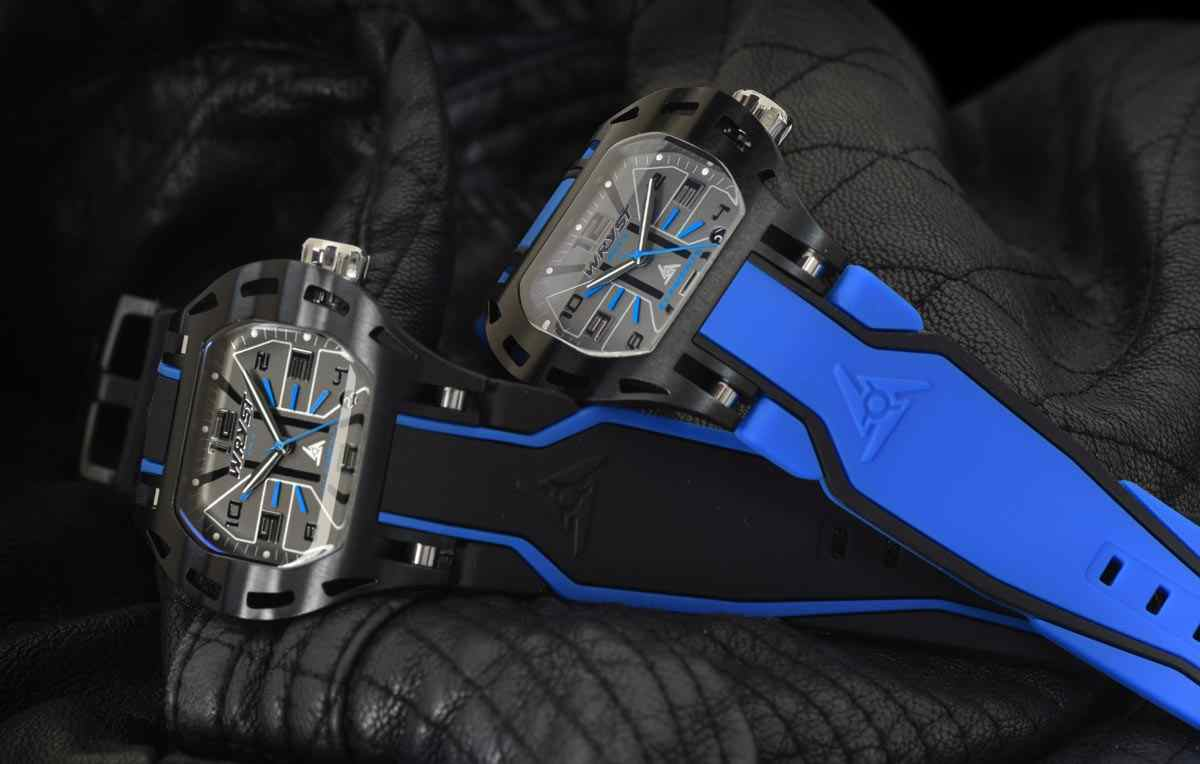 Wryst Elements PH7 Swiss Blue Watch