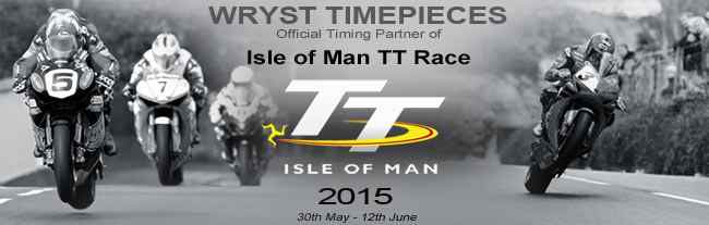 Swiss watch brand Wryst become timing partner of The Isle of Man TT Race