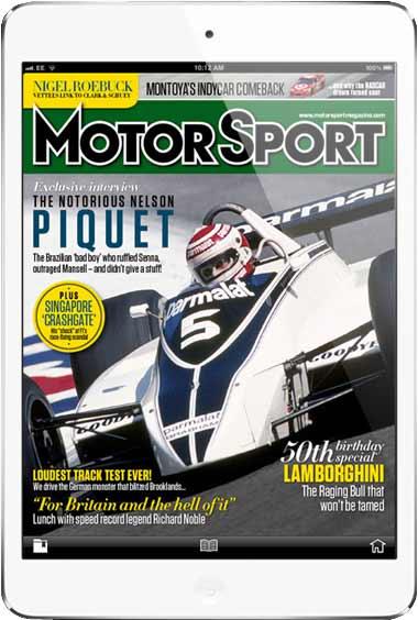 Motorsport Swiss Black Sport Watch