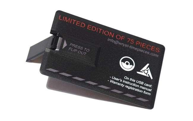Wryst manuel d'utilisation carte USB