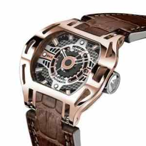 Automatic gold watch for men Wryst Racer in rose gold and yellow gold