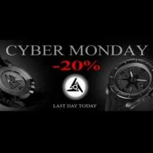 Cyber Monday at Watch Brand Wryst Timepieces
