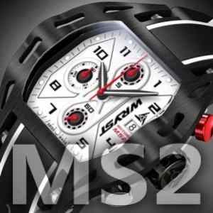 Black Swiss Motorsport Wryst MS2 watch now sold-out