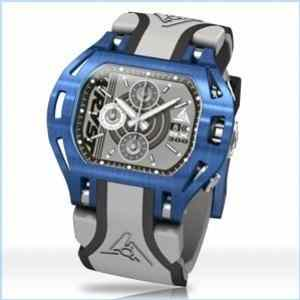 Blue Swiss Watch for Sports Wryst Force SX300