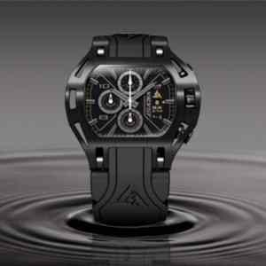 Black luxury watch for men Wryst Force SX210