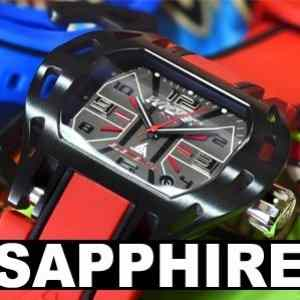 Sapphire Crystal Watch Swiss Made Wryst Force, Wryst Racer and Wryst Ultimate