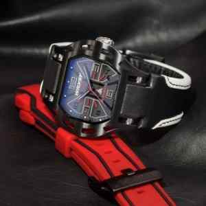 Swiss Wryst Elements watches with leather alcantara bracelet