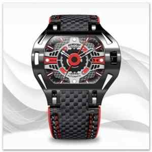 Latest luxury watches online with leather bracelets for men