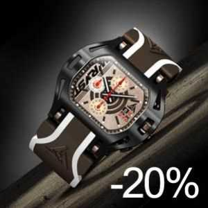 Mens watches on sale Wryst Force SX270 black rose gold