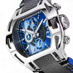 Men's blue dial watches from Switzerland Wryst Force SX230