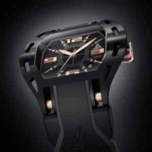 Newest Black and Rose Gold Luxury Sport Watch Wryst Automatic 2824 for men