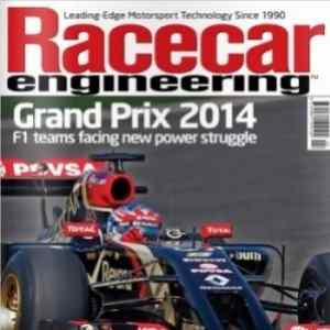 Partnership with Racecar Engineering Magazine - Leader in Motorsport technology