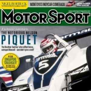 Swiss Sport Watch Airborne FW4 Featured in MOTOR SPORT MAGAZINE