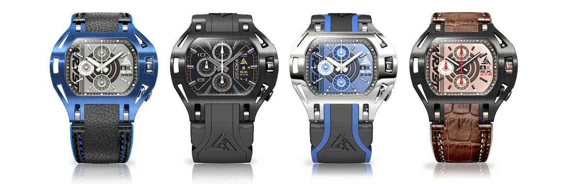 Luxury Racing Watches Wryst Chronograph