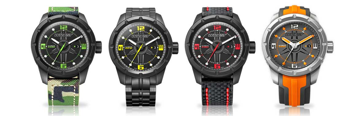 Black DLC Popular Watches
